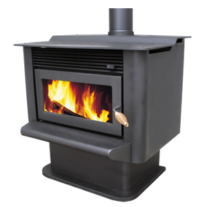 Fisher Hanmer Clean Air Wood Fire